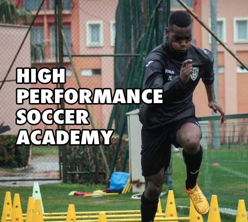 high performance soccer academy