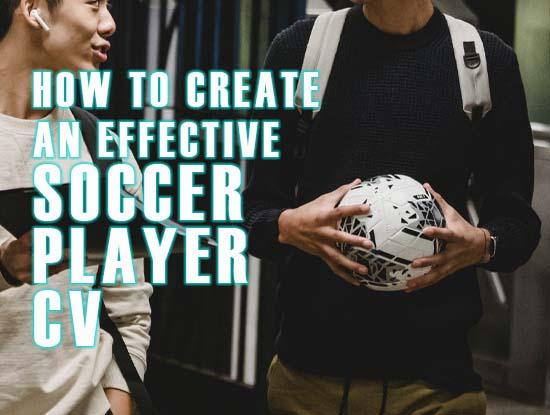 effective soccer cv