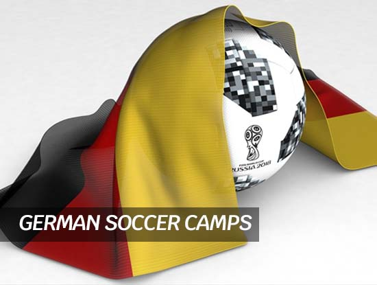 German soccer camp in Nürnberg