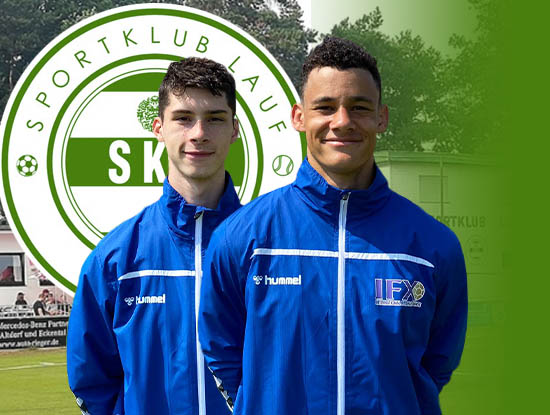 IFX soccer players in SK Lauf Germany